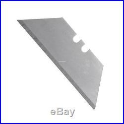 100Pcs Safety Knife Razor Blades Set Double-Edged Extra Sharp with Storage Case