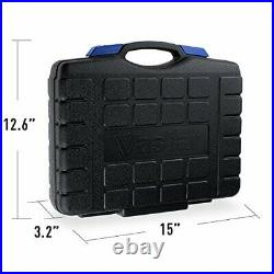102p Home Repair Tool Kit for Home Maintenance with Plastic Toolbox Storage Case