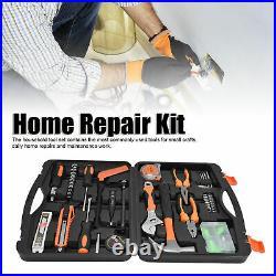 108pcs Tool Set Box Hand Tool Kit Home Repair DIY Household Toolbox Storage Case