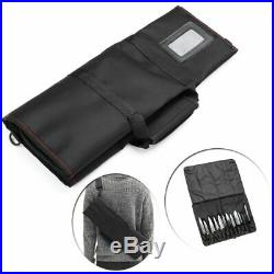12 Pocket Slots Chef Knife Roll Bag For Longer Knife Carry Case Portable Storage
