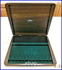 12x Cutco 47 Table Knives With Wood Storage Case Box Mint Condition