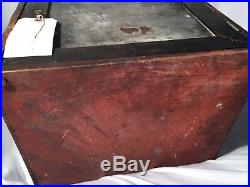 1940's Antique Remington Table Top Knife Display Case
