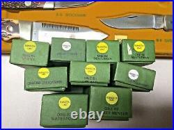 1991 Remington Original Store Display Case Complete WithKnifes Hardware Store Rare
