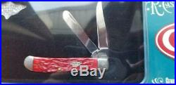2004 Case XX 6207 Ss, Red Bone Mini Trapper Knife, In Store Packaging #cg367