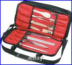 21 Pocket Knife Case Bag Storage Culinary Knives Tool Transport Kit Carry Holder
