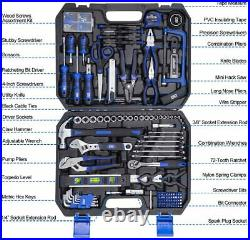 210-Piece Household Tool Kit, Home/Auto Repair Tool Set Toolbox Storage Case