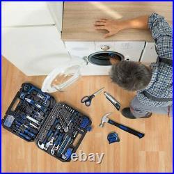 210-Piece Household Tool Kit, PROSTORMER General Home/Auto Repair Storage Case