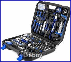 210pcs Tool Box Kit Set Storage Case Mechanics Household Home Vehicle Repair