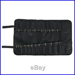 22 Pocket Chef Knife Bag Repair Roll Portable Kitchen Utensil Storage Carry Case