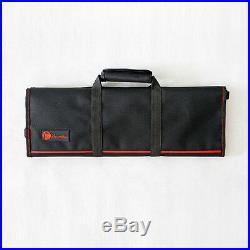 22 Pocket Chef Knife Roll Bag Case Chef School Strap Cutlery Knife Storage Case