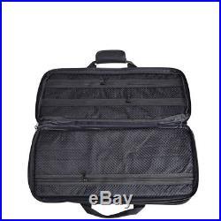 27 pocket Chef Knife Roll Bag Chef Knife Storage Case Backpack Wallet Strap New