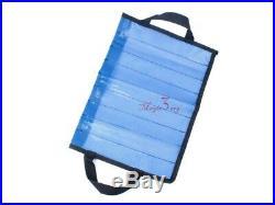2x Metal Jig Bag Saltwater Fishing Vertical Knife Offshore 9 Pocket Storage Case