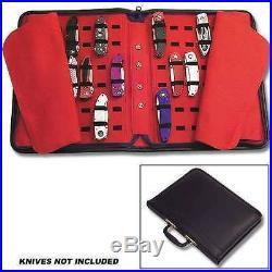 40 KNIVES STORAGE CASE FOLDING LOCK BLADE KNIVES KNIFE Pocket Knife Storage Case