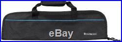 5-Pocket Padded Knife Roll, Black Case Bag carry Chef Storage Holder Black NEW