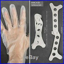 6 Piece Hunting Knife Set Sharp Stainless Steel Non Slip Handles + Storage Case