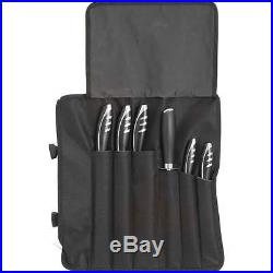 7 piece Cutlery knife set with traveling storage case New Free Shipping