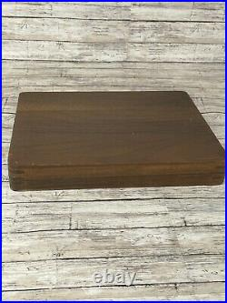 8x Cutco 59 Table Knives With Wood Storage Case Box Euc Condition 1059
