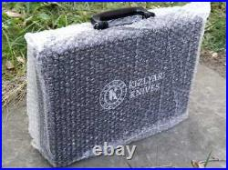 Aluminum case Kizlyar security code hard case for storing knives accessories