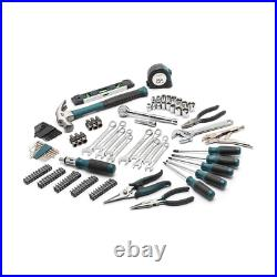 Anvil Home Tool Kit Set 3/8 in. Drive Blow-Molded Storage Case 137-Piece