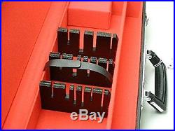 Attache Case for Kitchen Knives, Storage Case Japan, 6 slots, With key