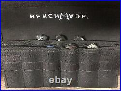 BENCHMADE KNIFE Storage Case Gold Class holds 13 + knives Discontinued Rare