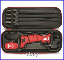 Battery Lithium Ion Electric Cordless Fillet Knife Set 4 Blades Stainless Steel