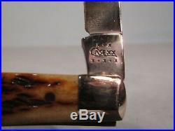 Beautiful 2002 Case 61048 Ss Slimline Trapper Folding Knife With Storage Box