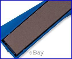 Bench Stone Sharpener Medium Grit Knife Iron Chisel Wood Work Tool Storage Case