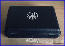 Beretta Buffalo Horn Big Game Folding Knife, Leather Case & Storage Box, New