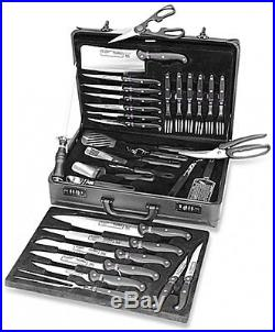 BergHOFF 32-Piece Knife Set With Carrying Case Cutlery Knives Holder Storage