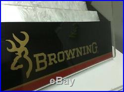 Browning Knife Counter Top Store Display Case Advertising