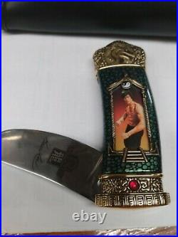 Bruce Lee Collector Knife With Storage Case