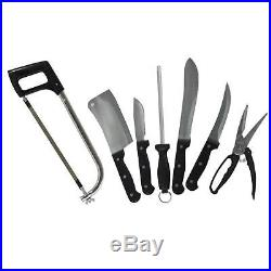 Butcher's Knife Sharpening Steel Convenient Storage Packaged Case All-In-One Set