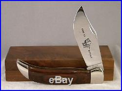 Case XX P172 Buffalo Knife 1970's With Storage Block