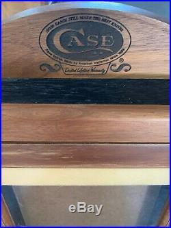 CASE XX VINTAGE DEALER STORE COUNTERTOP CASE XX KNIFE DISPLAY CASE WithKEY