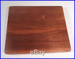 CUTCO- 12 pcs Set STEAK KNIVES- Serrated # 1059-Pat # 2147079-Wood Storage Case