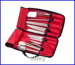 Case Kitchen Knife Hard Professional Bag Blade Cutlery Holder Carrying Storage