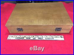 Case Knife Collector's Case Storage and Display, New Felt, Late 70's era