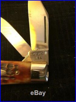 Case XX Geniune Redbone 6231 1/2 9 Dot Knife 1971old Store Stock Unused