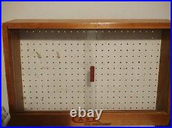 Case XX Knife Rare Store Counter Display Vintage Sliding Glass Front! 24x15x8