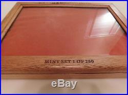 Case XX Knife Storage Display Glass Faced Light Oak Wood Shadow Box 16 X 12 X 2