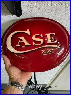 Case XX Knives Dealer Advertising Light Rare Hardware/country Store