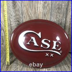 Case XX Knives Dealer Advertising Light Rare Sign Hardware/Country Store