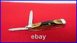 Case XX USA Stag Gunstock Roy Acuff Knife From Storage Find Unused Uncleaned