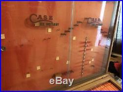 Case XX Vintage Dealer Store Countertop Case XX Knife Display Case