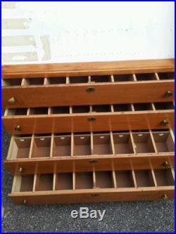 Case xx knife display cabinet & storage drawers sporting goods gun store fixture