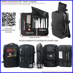 Chef Knife Cases Holders & Protectors Storage Bag Backpack Culinary Cooking Tool