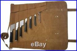 Chef Knife Roll Bag Durable Kitchen Cooking Storage Case Adjustable Strap KB004
