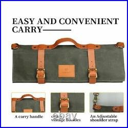 Chef Knife Wallet Bag Knives Kitchen Roll Carry Chef Case 10 Slots Storage Bag
