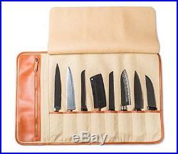 Chef Knives Bag Storage Case Roll 8 Pockets Portable Kitchen